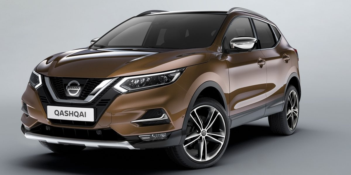 Qashqai 3/4 front with black accessories